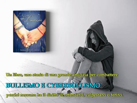 Cartolina L'azzurro dell'amicizia (1)