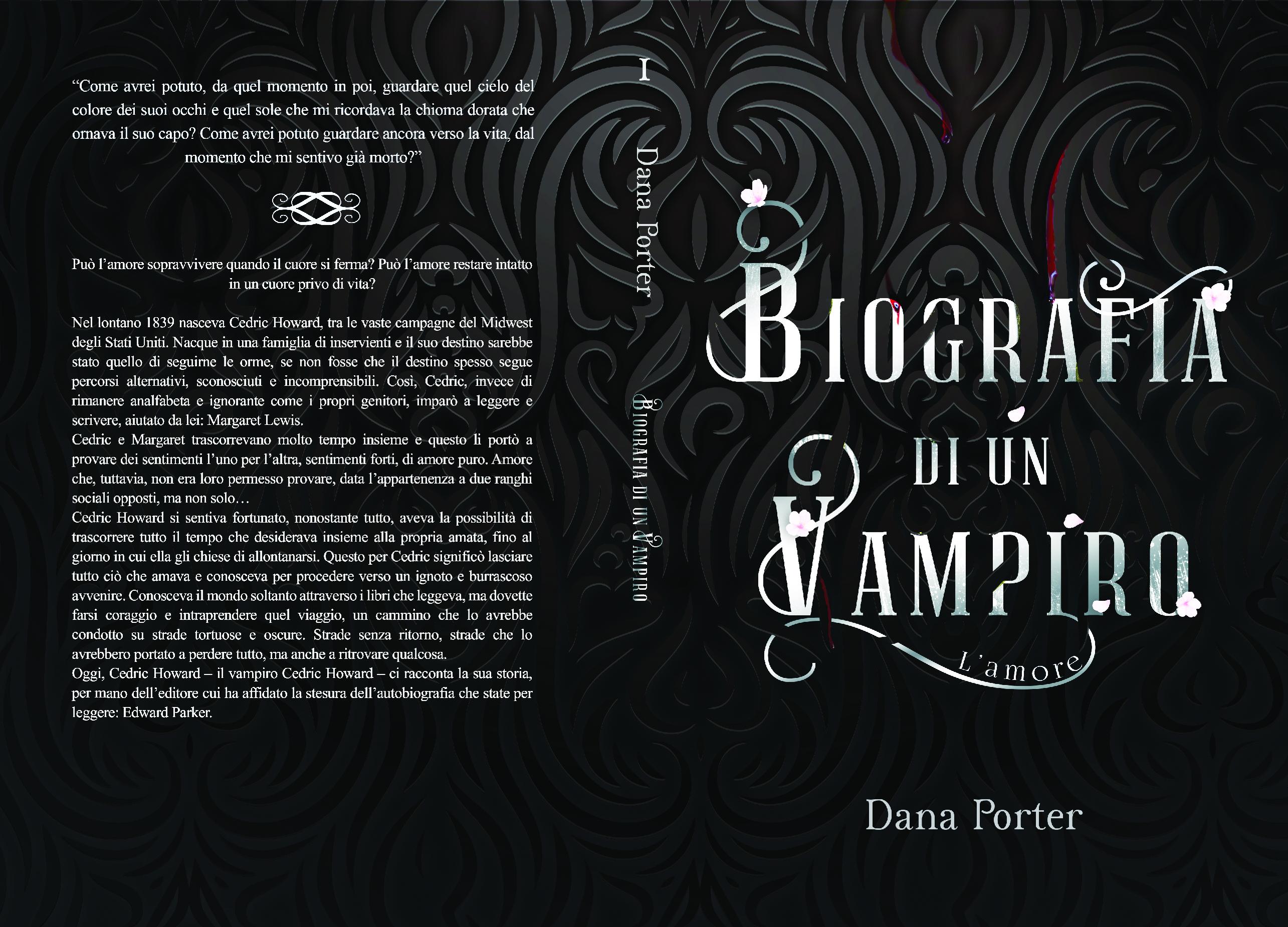 Biografia di un vampiro cover